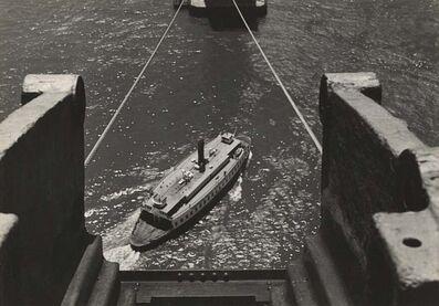Peter Stackpole, 'Building the San Francisco Bay Bridge [California]', 1935