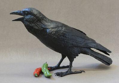 Jim Eppler, 'Raven I E  Red or Green?'