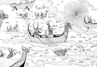 Saner, 'Los pescadores', 2015