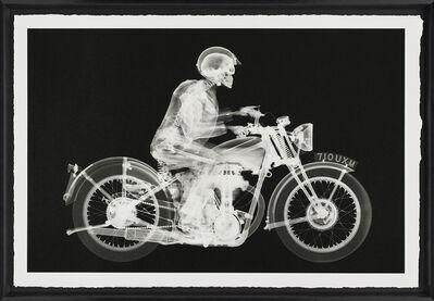 Nick Veasey, 'Matchless Rider (Large Black)', 2019