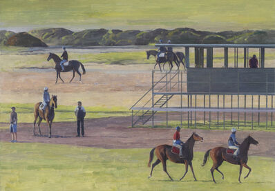 Shane Jones, 'Trackwork at Flemington #5', 2014
