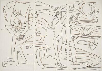 "Roberto Matta, 'Cycle ""Les 120 Journées de Sodoma et Gomorra""', 1943-1945"