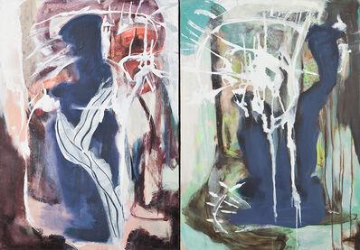 Inge Horup, 'L'arbre I & II, diptyque', 2018