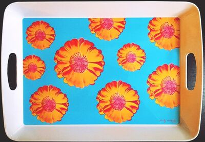 Andy Warhol, 'Prototype Tray for Andy Warhol's Tacoma Flower Design  (from the estate of Tim Hunt, Warhol Foundation curator and sales agent)', 2005