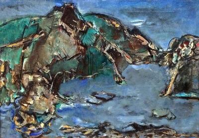Max Weber, 'California Landscape', 1952