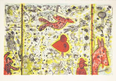 Roy De Forest, 'History of Flight', 1994