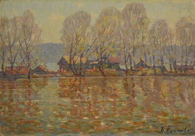"Boris Sergeevich Pushkov, 'Sketch ""Flood', 1986"