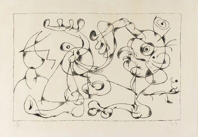 Joan Miró, 'Ubu Roi. Le Nobles a la Tràppe (Mourlot 410)', 1966