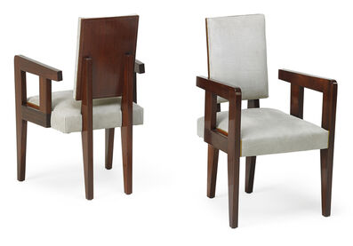 André Sornay, 'Pair of armchairs, France', 1930s