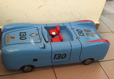 Paa Joe, 'Porsche 55 (James Dean Car)', 2017