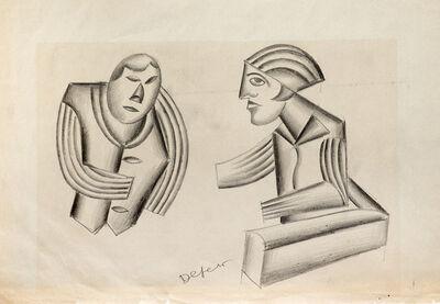 Fortunato Depero, 'Studi per figure', 1932-33