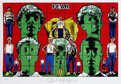 Gilbert and George, 'Fear'
