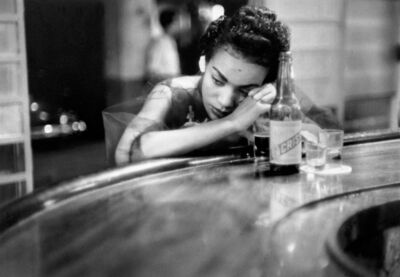 Eve Arnold, 'Bar girl in a brothel in the red-light district. Havana, Cuba', 1954