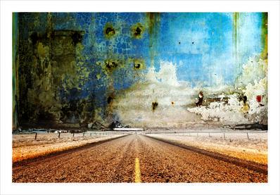 Tammam Azzam, 'The Road', 2015