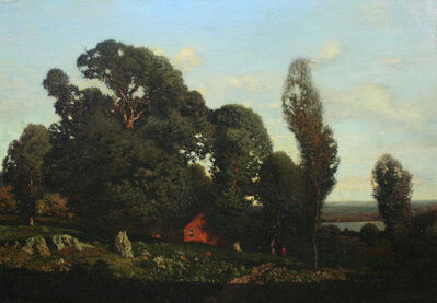 Henry Smith, 'Red House on the River', Date unknown