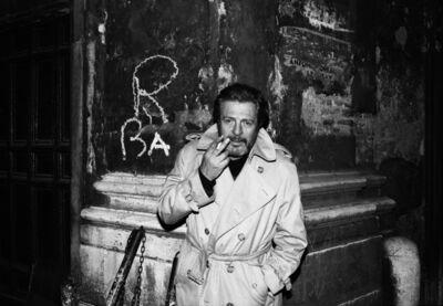 Harry Benson, 'Marcello Mastroianni', 1987