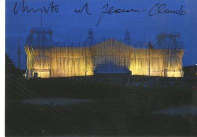 Christo, 'Berlin 1995: Der von Christo und Jeanne-Claude verhüllte Reichstag (Hand Signed by Christo and Jeanne-Claude)', 1995