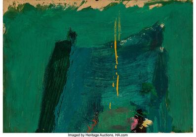 Franz Kline, 'Green Painting', 1959