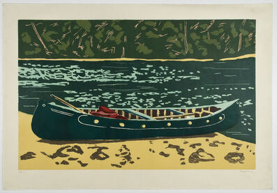 Richard Bosman, 'Green Canoe', 2003