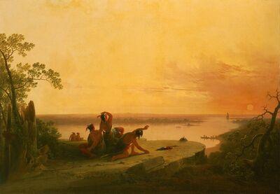 Joshua Shaw, 'The First Ship', circa 1840-1850