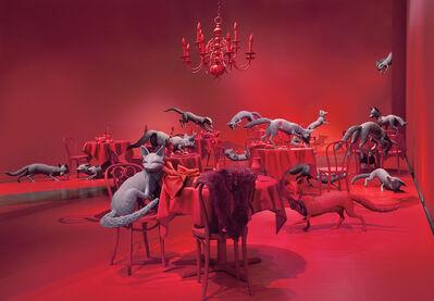 Sandy Skoglund, 'The Grey Foxes', 2008