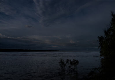 Jeanine Michna-Bales, 'Moonlight Over the Mississippi, Tensas, Parish, LA', 2014