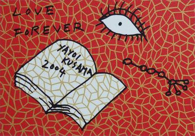Yayoi Kusama, 'Book to Read at Night B', 2004