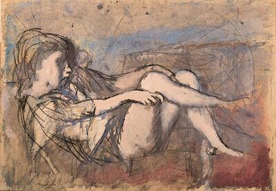 Carlo Mattioli, 'Figura', 50's