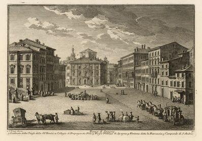 Giuseppe Vasi, 'Piazza di Spagna', 1747