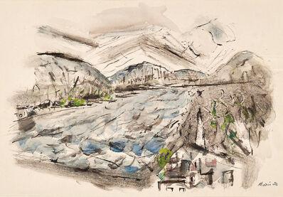 John Marin (1870-1953), 'Delaware River Near Lambertville, New Jersey, No. 3', 1950