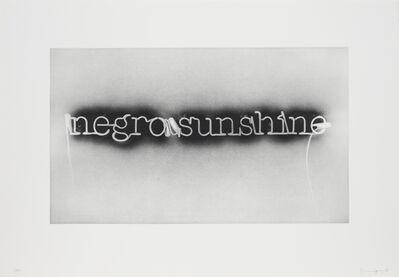 Glenn Ligon, 'Warm Broad Glow (reversed)', 2008