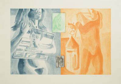 David Salle, 'Hanfield Hatfield #4', 1989
