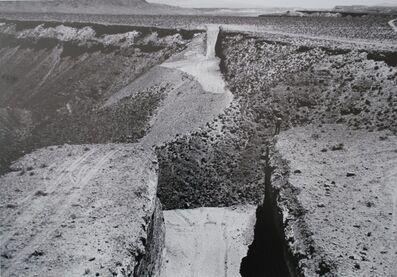Gianfranco Gorgoni, 'Michael Heizer: Double Negative', 1969