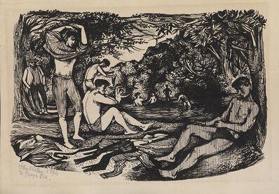 John Minton, 'La Baignade', 1946