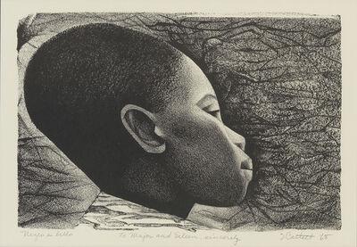 Elizabeth Catlett, 'Negro es Bello (Black is Beautiful).', 1968
