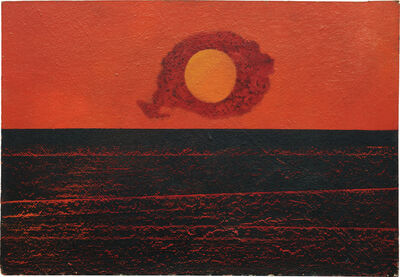 Max Ernst, 'Clouds, Sun and Sea', 1952