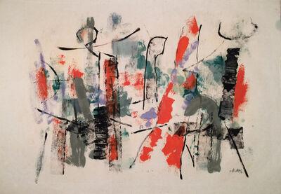 John Von Wicht, 'Untitled Harbor Abstraction', 1956