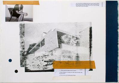 Julião Sarmento, '24.3.50 / 209. Silver Lake Blue', 2011