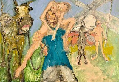 Eva Beresin, 'Don Quijote de la Mancha and Sancho Panza and of course Dulcinea', 2020