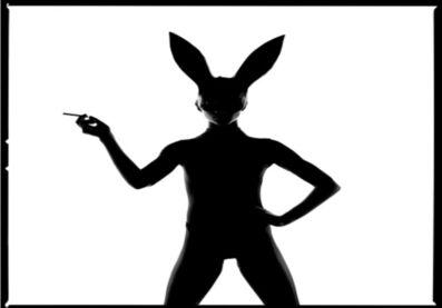Tyler Shields, 'Bunny ii Silhouette ', 2020