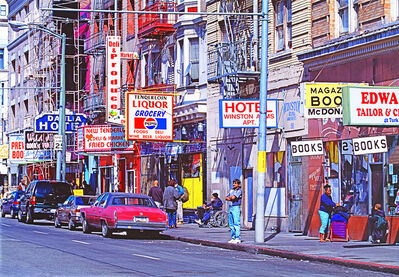 Mitchell Funk, 'Turk Street in the Tenderloin San Francisco', 1999