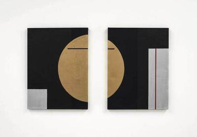Robert C. Morgan, 'Lissajous (Diptych)', 2016