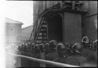Kazuo Kitai, 'Riot Squad, Haneda, Tokyo (Resistance series)', 1965