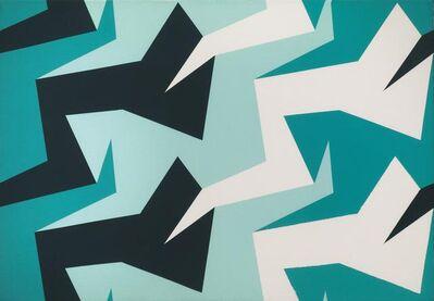 Sergio Lombardo, '2forme 4colori', 1996