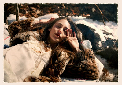 "Yigal Ozeri, '""Untitled: Lizzie in the snow""', 2010"