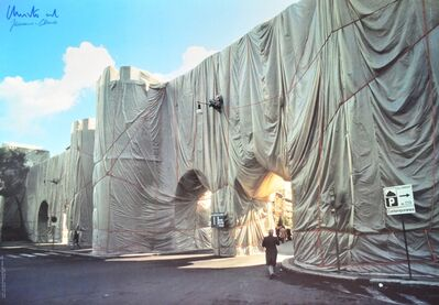 Christo and Jeanne-Claude, 'Wrapped Roman Wall', 1970-1980