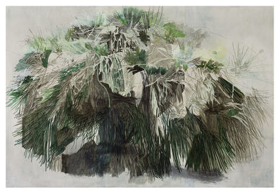 Halley Cheng, 'A Tree in Jordan Valley Park, Main Entrance ', 2014