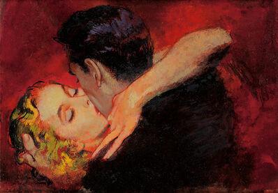 "Alexander Sharpe Ross, '""The Embrace"", Story Illustration for Cosmopolitan Magazine, August 1951', 1951"