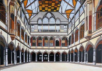 Bert Hermans, 'Exchange building Antwerp', 2019