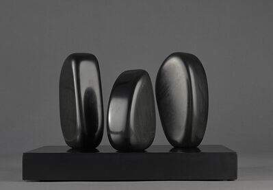 Barbara Hepworth, 'Three Forms (Family Group)', 1965